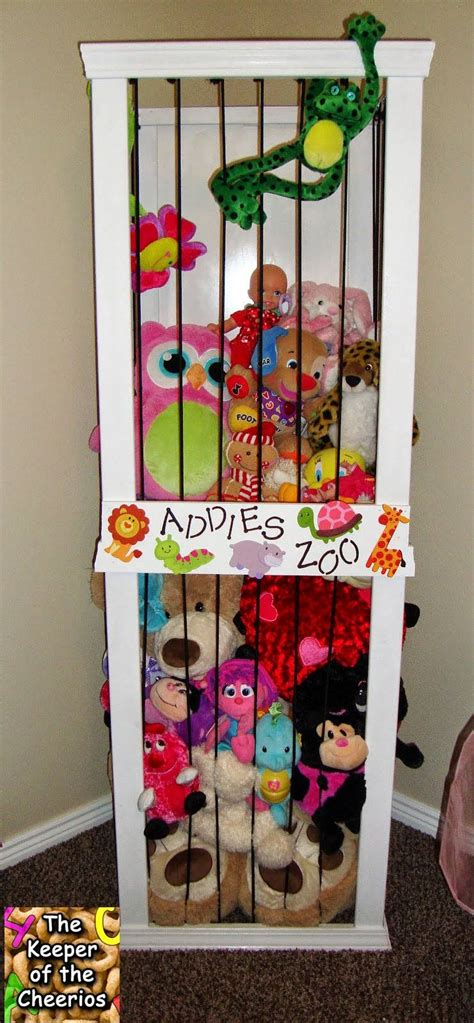 Toybox With Bookshelf 20 Creative Diy Ways To Organize And Store Stuffed Animal