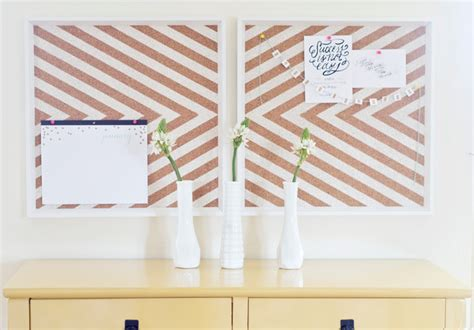 home design message board craft how to make your own stylish notice board