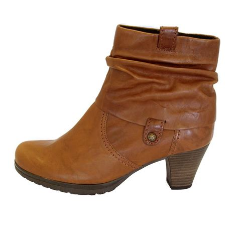 ankle boots gabor boots brignall womens ankle boot in copper leather