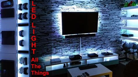 led zimmerbeleuchtung project room vlog 04 diy led light all the