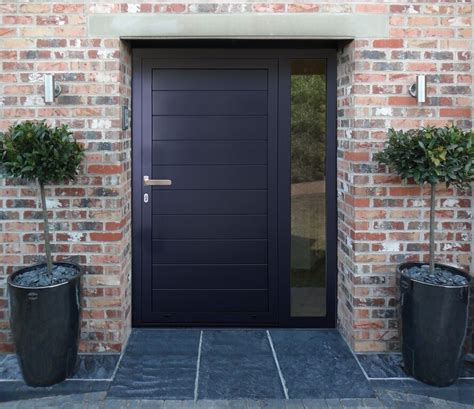 funky front doors kloeber aluminium funkyfront ral 7001 kloeber aluminium funkyfront ral 9005