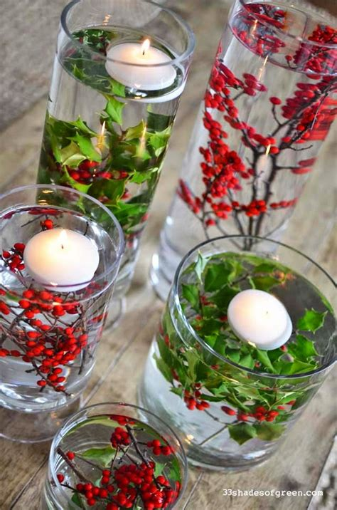 easy christmas centerpieces to make top table decorations celebration all about