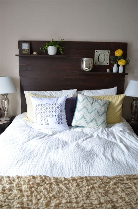 Diy Bed Headboard Ideas by 100 Inexpensive And Insanely Smart Diy Headboard Ideas For Your Bedroom Design