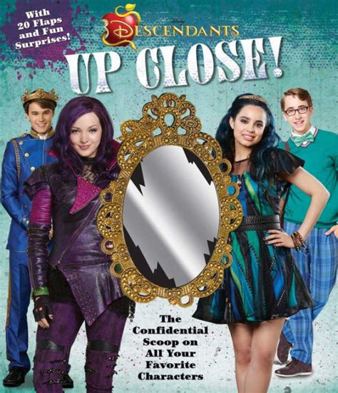 Stores Like Barnes And Noble Disney Descendants Up Close By Matt Sinclair Hardcover