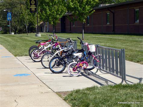 Bike Rack School by 30daysofbiking 2012 Bikes At Schools Kansas Cyclist News