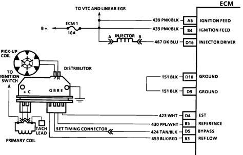 chevy 4 3 vortec distributor wiring diagram get free