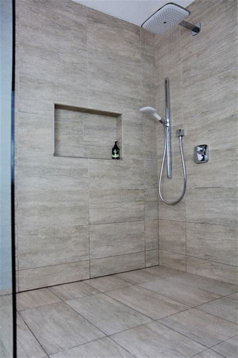 Secret Shower by Splish Splash Shower Systems Our Curbless Drain