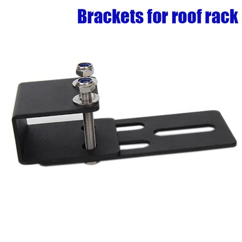 Portable Universal Brackets for Roof Rack Crossbar Luggage rack Top Windshield Mounting Brackets