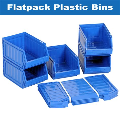 Wa2744 Storage Box Transparant Plastik 10 10 5 Cm flat plastic storage containers sterilite 19638606 large clip box clear with blue aquarium