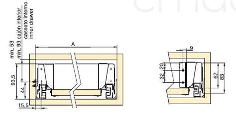 cerniere per cassetti scorrevoli guide cassetto multimarca guida completa vantage q per