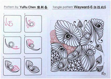 zentangle pattern sson 615 best zentangel patterns images on pinterest tangle