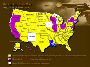 concealed carry reciprocity map brocato instructors