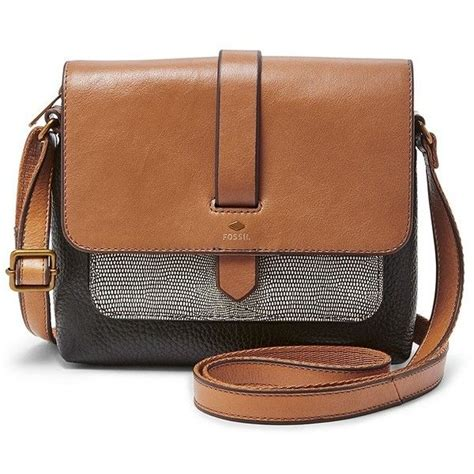 Fossil Evan Backpack Neutral Multi Brown Tas Backpack Fossil Original fossil kinley small crossbody zb6753994 color neutral multi 115 liked on polyvore featuring