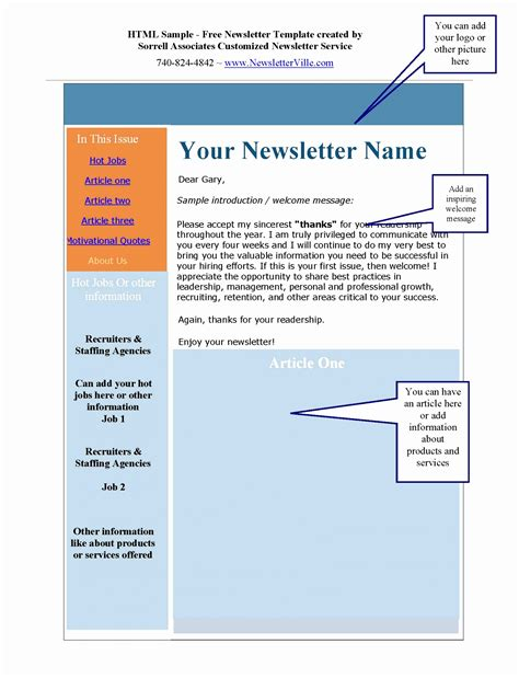 8 Microsoft Word Newsletter Templates Free Download Parfr Templatesz234 Excel Newsletter Template