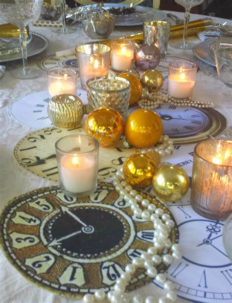 new years table decorations 30 diy new year table decoration ideas table decorating