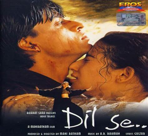 film india dil shahrukh khan starrer dil se completes 17 years indiatv