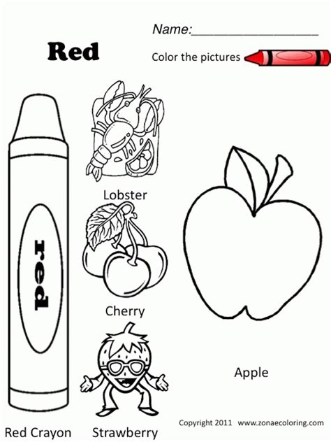 coloring page for red red coloring pages printable coloring home