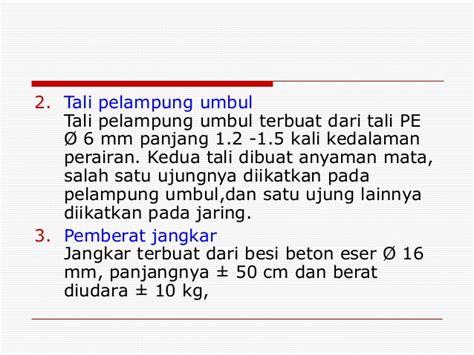 Tali Shibari Tebal 1 Cm Panjang 10 M petunjuk teknis gill net millenium