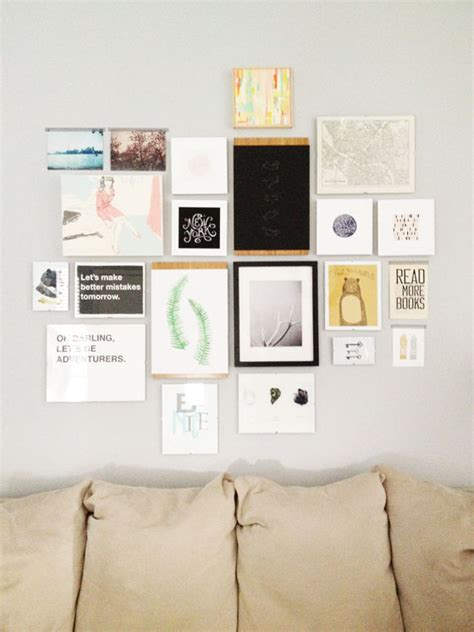 design photo wall you can do it create a gallery wall design crush