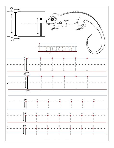 worksheets for preschoolers tracing letters printable letter i tracing worksheets for preschool