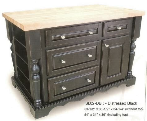 portable kitchen island isl dbk large decobizz