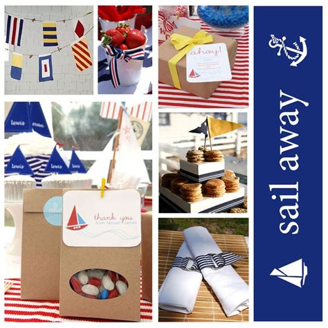 nautical theme nautical party baby shower ideas pinterest