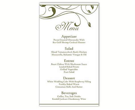 menu card template for word best 25 menu template word ideas on