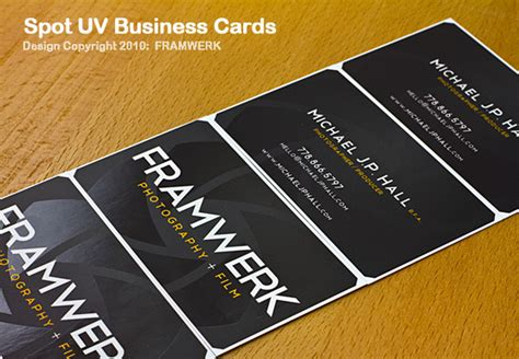 spot uv business cards vancouver image collections card