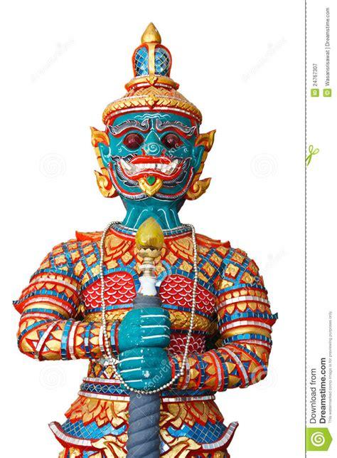thai style giant statue stock image image  buddhism