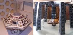 doctor who papercaft tardis interiors