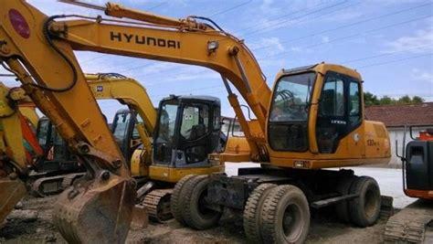 used hyundai 130 used hyundai wheel excavator hyundai 130 5 wheel excavator