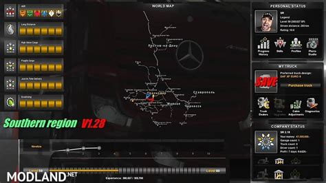 euro truck simulator 2 hack full version save south region 1 28 mod for ets 2