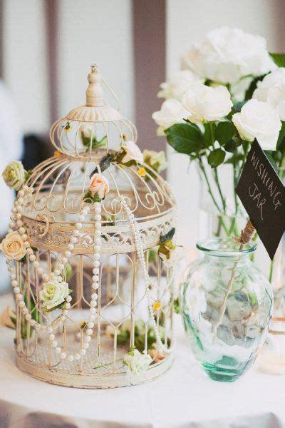 bird cage  pearl wedding decor tulleandchantillycom