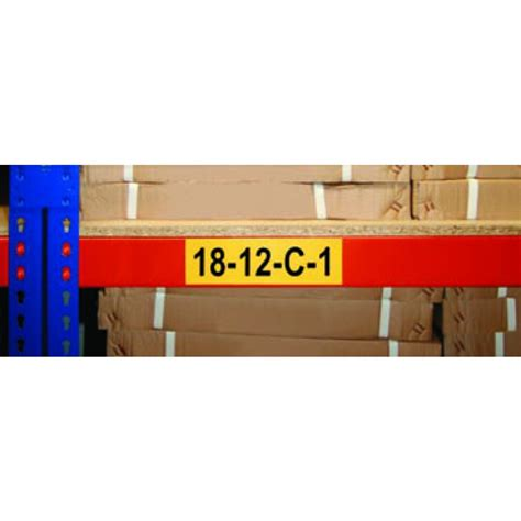 Warehouse Rack Labels by Warehouse Information Labels Racking Labels General