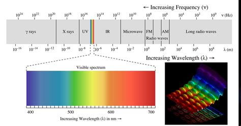 What Color Of Visible Light Has The Wavelength by Visible Light Is Electromagnetic Radiation Fact Or Myth