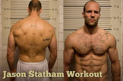 jason statham best list the jason statham workout for a shredded physique