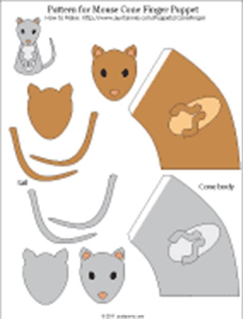 paper bag mouse puppet pattern mouse puppet template download free anayamath
