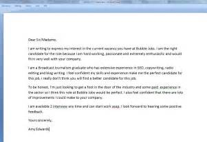 Cover Letter For Employment by Warning World S Worst Cover Letter