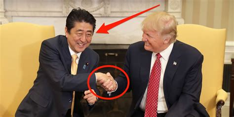 donald trump handshake a closer look at trump s handshakes business insider