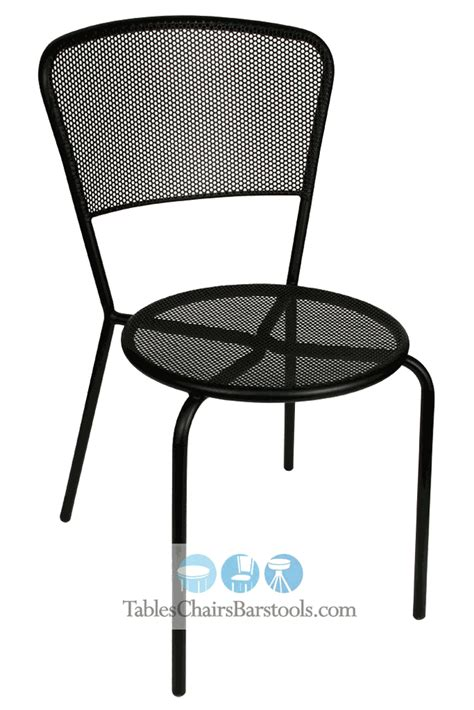 Wrought Iron Commercial Bistro Chair Commercial Wrought Iron Cast Aluminum Outside Steel Chairs Bar Restaurant Furniture