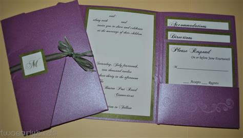 Two Early Birds A Wedding Invitation 2 Fold Invitation Card Template