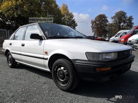 1989 Toyota Specs 1989 Toyota Corolla Liftback Xl 1 3 Aut Car Photo And Specs