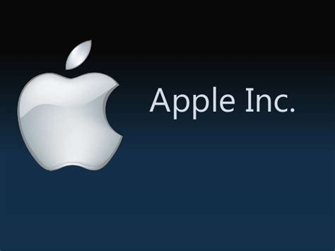 apple inc presentatioin slides
