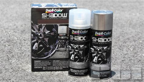 dupli color shadow dupli color shd1000 shadow wheels rims chrome black out