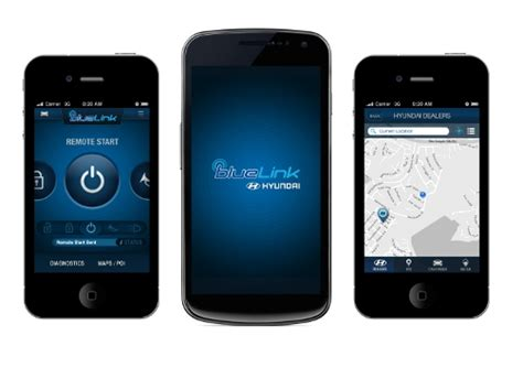 hyundai adds new features to blue link mobile app