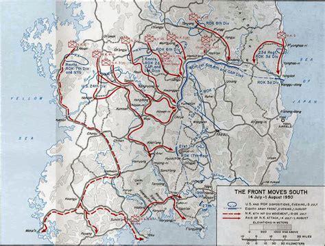 pusan on map battle of pusan perimeter images