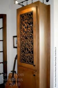 wrought iron cabinet door inserts google search