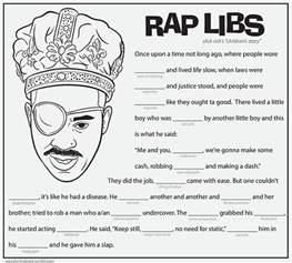 download slick rick rap libs activity print color