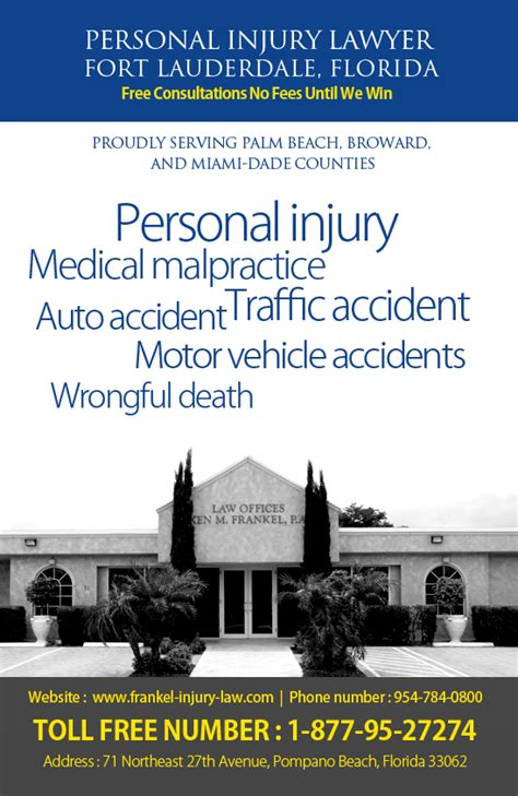 personal injury lawyer ft lauderdale injury lawyers in fort lauderdale frankel injury