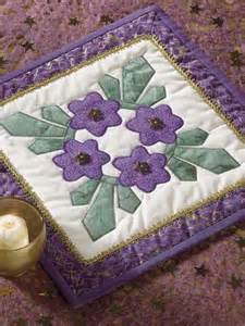 quilting table topper quilt patterns circle of violets